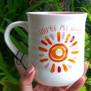 Nwt  You are my Hero Coffee / Tea Mug